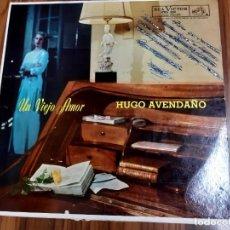 Discos de vinilo: HUGO AVENDAÑO UN VIEJO AMOR LP RCA VICTOR EDICION MEXICO. Lote 208247630