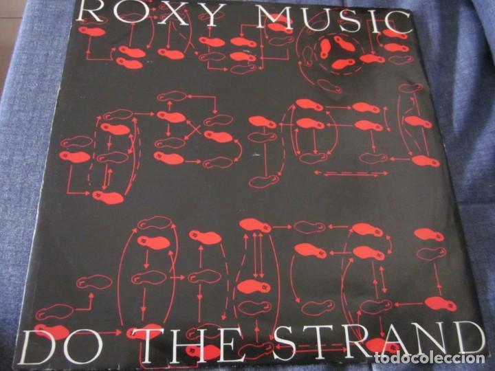 ROXY MUSIC - DO THE STRAND - MX - EDICION INGLESA DEL AÑO 1973 (Música - Discos de Vinilo - Maxi Singles - Pop - Rock Internacional de los 70)