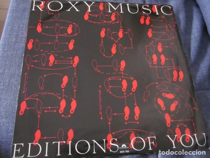 Discos de vinilo: ROXY MUSIC - DO THE STRAND - MX - EDICION INGLESA DEL AÑO 1973 - Foto 2 - 208249190