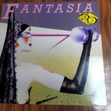 Discos de vinilo: 3 D FANTASIA LP VINILO PROMO ESPAÑOL 1984 LA DECADA PRODIGIOSA MANUEL AGUILAR JAVIER DE JUAN 3D. Lote 208249211
