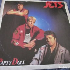 Discos de vinilo: THE JETS - PARTY DOLL - MX - EDICION INGLESA DEL AÑO 1984. ROCKABILLY.. Lote 208249338