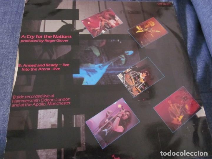 Discos de vinilo: MICHAEL SCHENKER - CRY FOR NATIONS - MX - EDICION INGLESA DEL AÑO 1980. - Foto 2 - 208249646