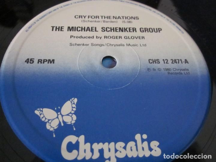 Discos de vinilo: MICHAEL SCHENKER - CRY FOR NATIONS - MX - EDICION INGLESA DEL AÑO 1980. - Foto 3 - 208249646