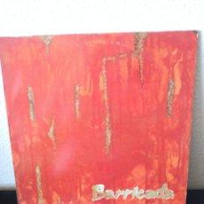 Disques de vinyle: BARRICADA ROJO. Lote 208252145