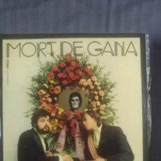 Discos de vinilo: MORT DE GANA VINILO. Lote 208254627