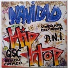"""Discos de vinilo: NAVIDAD HIP HOP [HIP HOP / RAP OLD SCHOOL] [ENCARTE INTERIOR MUY EXCLUSIVO LP 12"""" 33RPM] 1989. Lote 208273751"""