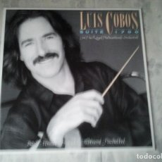 Discos de vinilo: DISCO ANTIGUO DE VINILO DE LUIS COBOS SUITE 1700. VINTAGE LP. Lote 208277091