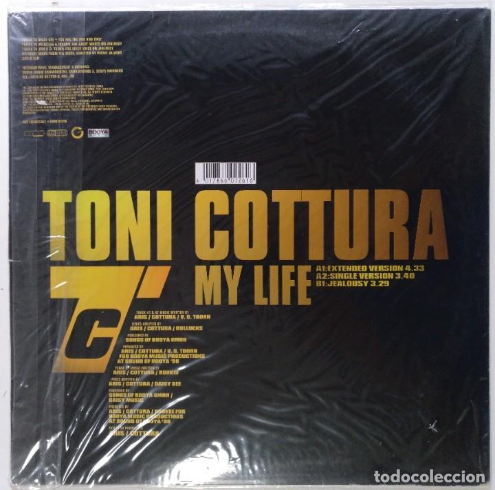 "Discos de vinilo: TONI COTTURA - MY LIFE / JEALOUSY [[[ VINILO MX 12"" 45RPM ]]] [[ 1998 ]] ORBIT RECORDS - Foto 2 - 208284625"