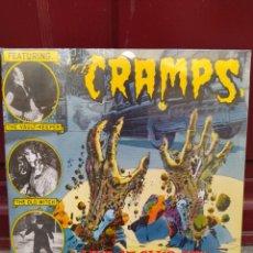 Discos de vinilo: THE CRAMPS–LIVE AT CLUB 57!! 1979 (PLUS 9 DEMOS! 1977-79) . 2 LP VINILO PRECINTADO.. Lote 208285677