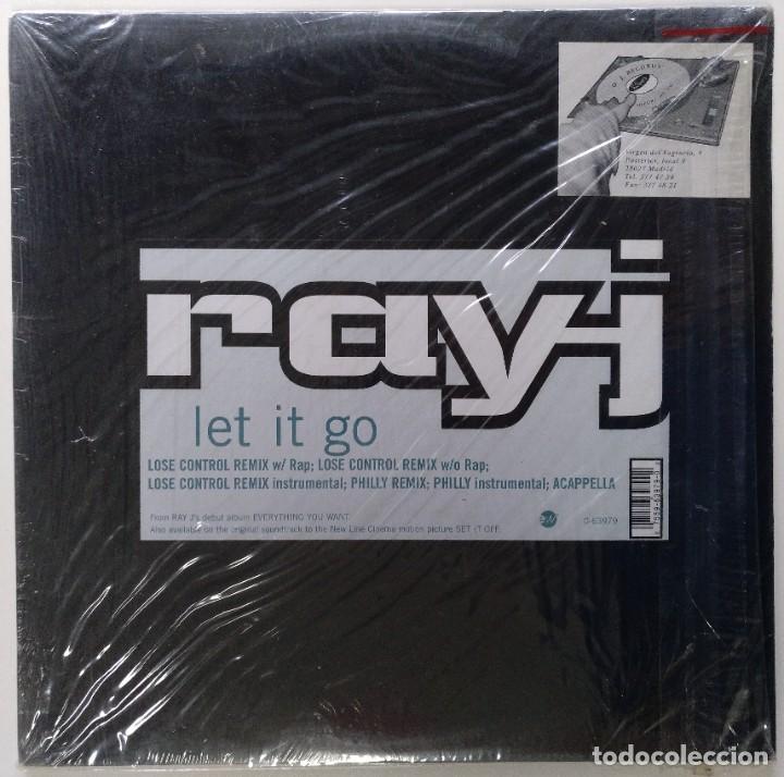 """RAY-J - LET IT GO (LOSE CONTROL REMIX) [[[ VINILO MX 12"""" 45RPM ]]] [[ 1996 ]] [ FUNK SOUL RAP ]] (Música - Discos de Vinilo - Maxi Singles - Rap / Hip Hop)"""