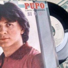 Discos de vinil: SINGLE ( VINILO) DE PUPO AÑOS 80. Lote 208309277