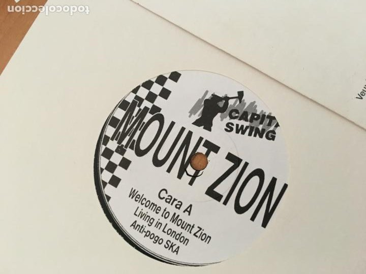 Discos de vinilo: MOUNT ZION (WELCOME TO MOUNT ZION +4) EP ESPAÑA 1995 (EPI18) - Foto 2 - 208309556
