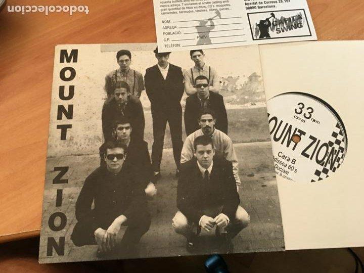 MOUNT ZION (WELCOME TO MOUNT ZION +4) EP ESPAÑA 1995 (EPI18) (Música - Discos de Vinilo - EPs - Reggae - Ska)