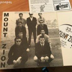 Discos de vinilo: MOUNT ZION (WELCOME TO MOUNT ZION +4) EP ESPAÑA 1995 (EPI18). Lote 208309556