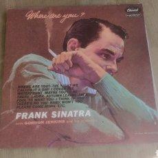Discos de vinilo: VINILO DE SINATRA.. Lote 208314488