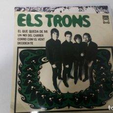 Dischi in vinile: ELS TRONS. Lote 208322481