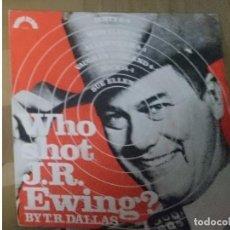 Discos de vinilo: WHO SHOT J.R. EWING - T.R. DALLAS. Lote 208325651