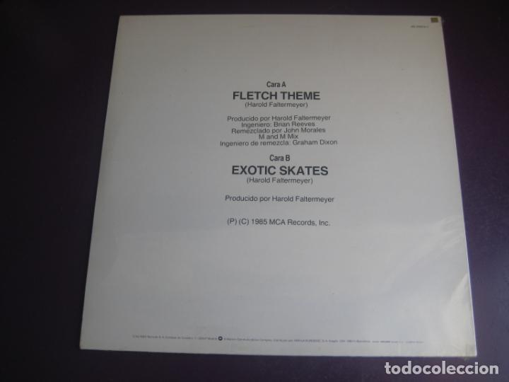 Discos de vinilo: Harold Faltermeyer – Fletch Theme (EL CAMALEON) MAXI SINGLE MCA 1985 - DISCO POP CINE 80S BSO - Foto 2 - 208333847