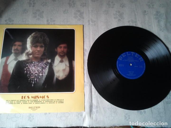 ANTIGUO DISCO LP DE VINILO DEL GRUPO MISICAL LOS MISMOS DEL AÑO 1971. MUSICA 70 (Música - Discos - LP Vinilo - Grupos Españoles 50 y 60)