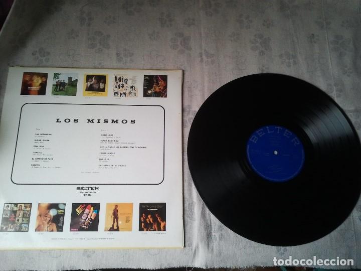 Discos de vinilo: Antiguo disco LP de vinilo del grupo misical Los Mismos del año 1971. Musica 70 - Foto 2 - 208353762