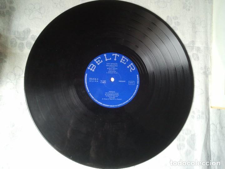Discos de vinilo: Antiguo disco LP de vinilo del grupo misical Los Mismos del año 1971. Musica 70 - Foto 3 - 208353762