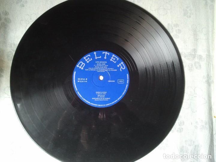 Discos de vinilo: Antiguo disco LP de vinilo del grupo misical Los Mismos del año 1971. Musica 70 - Foto 4 - 208353762