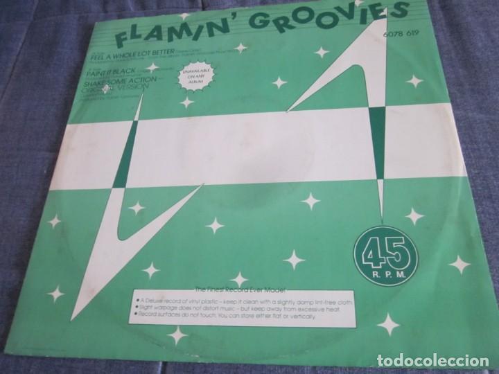 FLAMIN' GROOVIES - FEEL A WHOLE LOT BETTER - MX - EDICION INGLESA DEL AÑO 1978. (Música - Discos de Vinilo - Maxi Singles - Pop - Rock Extranjero de los 70)