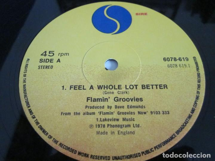 Discos de vinilo: FLAMIN GROOVIES - FEEL A WHOLE LOT BETTER - MX - EDICION INGLESA DEL AÑO 1978. - Foto 3 - 208357917