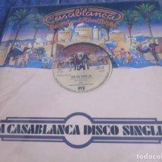 Discos de vinilo: KISS - THEN SHE KISSED ME - MX - EDICION INGLESA DEL AÑO 1977.. Lote 208358946