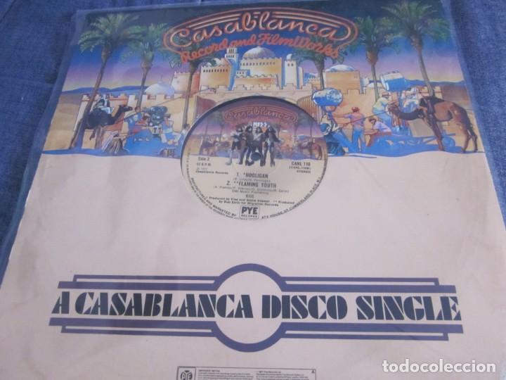 Discos de vinilo: KISS - THEN SHE KISSED ME - MX - EDICION INGLESA DEL AÑO 1977. - Foto 2 - 208358946