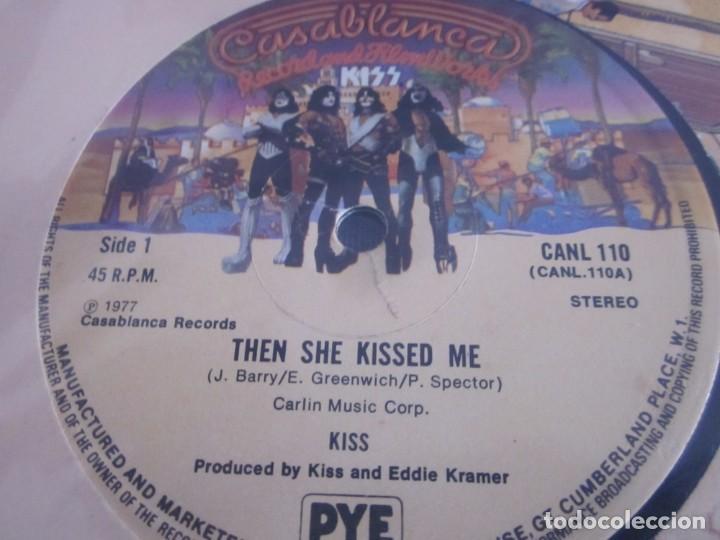 Discos de vinilo: KISS - THEN SHE KISSED ME - MX - EDICION INGLESA DEL AÑO 1977. - Foto 3 - 208358946
