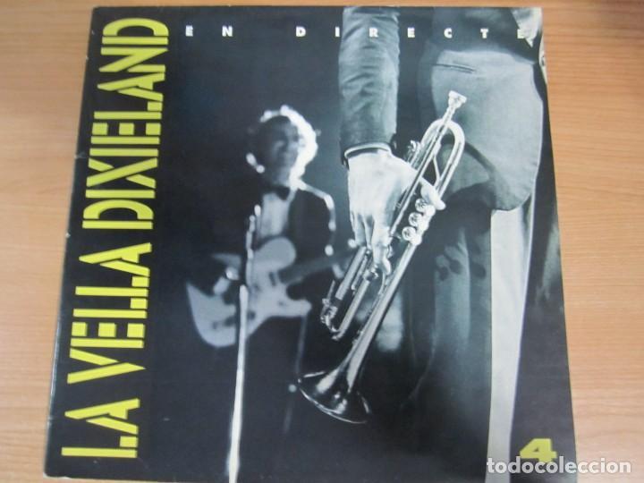DISCO VINILO LA VELLA DIXIELAND EN DIRECTE (Música - Discos - LP Vinilo - Jazz, Jazz-Rock, Blues y R&B)
