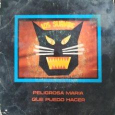 Discos de vinilo: LOS SUAVES SINGLE PELIGROSA MARIA. Lote 208361252