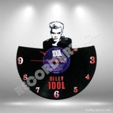 Discos de vinilo: RELOJ DE DISCO LP DE BILLY IDOL. Lote 208363041