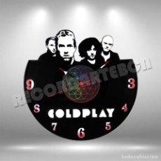 Discos de vinilo: RELOJ DE DISCO LP DE COLDPLAY. Lote 208366468