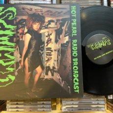 Discos de vinilo: THE CRAMPS HOT PEARL RADIO BROADCAST LP DISCO DE VINILO. Lote 208368437