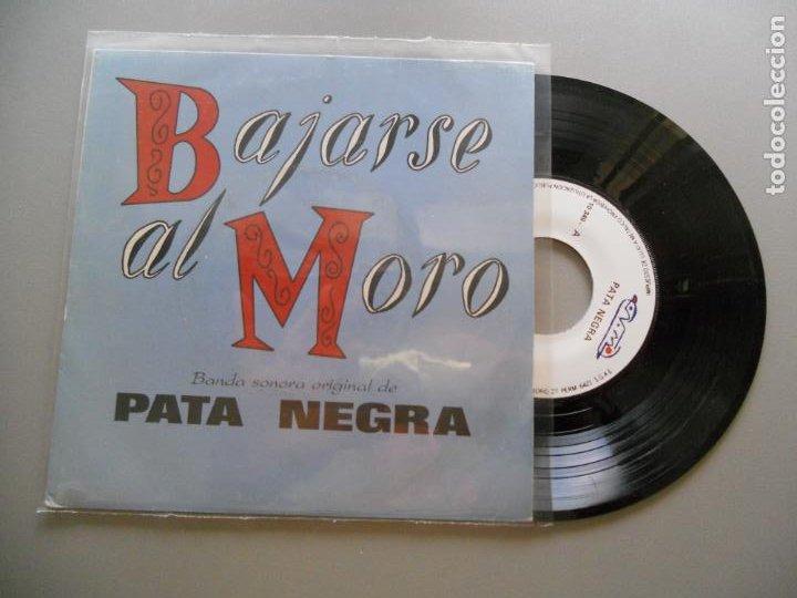 PATA NEGRA *BANDA SONORA DE BAJARSE AL MORO* RAIMUNDO AMADOR EP 1988- PASA LA VIDA + 7 (Música - Discos de Vinilo - EPs - Bandas Sonoras y Actores)