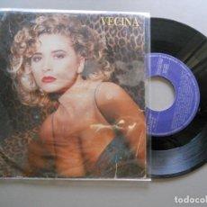 Disques de vinyle: OLE OLE *VECINA* SINGLE 1988 MARTA SÁNCHEZ. Lote 208372543