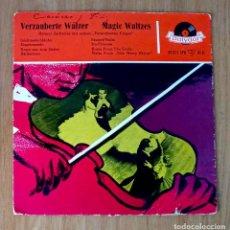 Discos de vinilo: VERZAUBERTE WALZER - MAGIC WALTZES - HELMUT ZACHARIAS - 45 RPM. Lote 208150300
