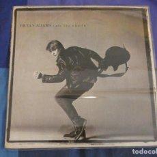 Discos de vinilo: LP BRYAN ADAMS CUT LIKE A KNIFE 1983 BUEN ESTADO DE VINILO TAPA PEQUEÑOS SINTOMAS DE USO. Lote 208389585