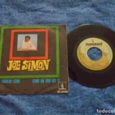 "Discos de vinilo: JOE SIMON 7"" SPAIN 45 THE CHOKIN´ KIND SINGLE VINILO 1969 FUNK NORTHERN SOUL MONUMENT RARO OFERTA !!. Lote 208390712"