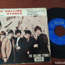 Discos de vinilo: ROLLING STONES EP ITS ALL OVER NOW DECCA 80823. Lote 208397106