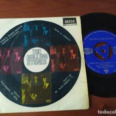 Discos de vinilo: ROLLING STONES EVERYBODY NEEDS...EP DECCA 80932. Lote 208397220