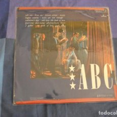 Discos de vinilo: LP ABC THE LEXICON OF LOVE PORTADA CON ADHESIVO ROJO VINILO EN BUEN ESTADO. Lote 208406533