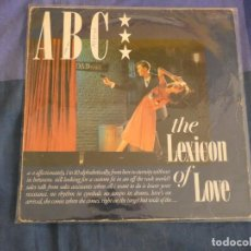 Discos de vinilo: LP ABC THE LEXICON OF LOVE CIERTO USO PERO AUN DECENTE. Lote 208406752