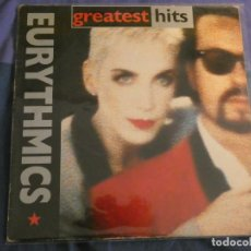 Discos de vinilo: LP EURYTHMICS GREATEST HITS BUEN ESTADO GENERAL. Lote 208409438