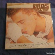 Discos de vinilo: MAXISINGLE 1985 EROS RAMAZZOTTI CUORI AGITATI 1985 PEQUEÑA SEÑAL TOLERABLE EN VINILO. Lote 208410010