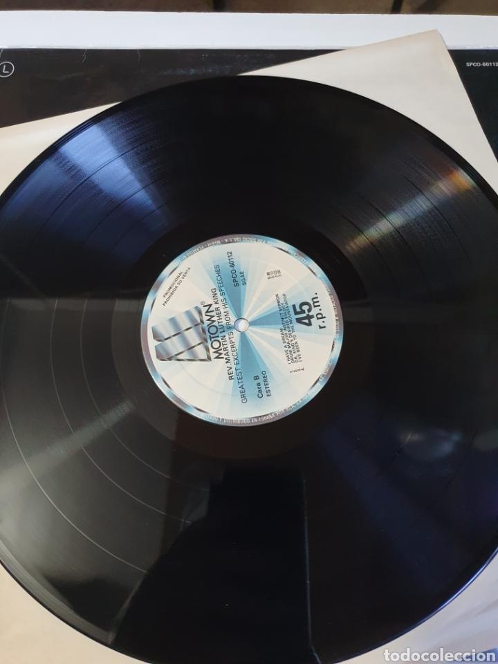 Discos de vinilo: Stevie Wonder / Rev. Martin Luther King - Happy Birthday, promo Motown, 1984, españa. - Foto 7 - 208414597