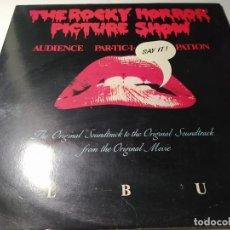 Dischi in vinile: LP - THE ROCKY HORROR PICTURE SHOW - ODE 1032 - 2LP - CARPETA ( VG / VG+) UK 1983. Lote 208417047
