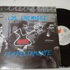 Discos de vinilo: LOS ENEMIGOS-FERPECTAMENTE-1986-LP. Lote 208417265